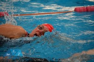 triathlon, swimming, pool