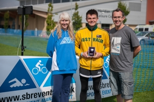 Louth triathlon winner Ross McGregor