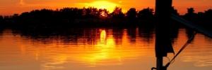 Tallington Lakes sunset